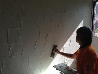 珪藻土塗り壁はいから小町