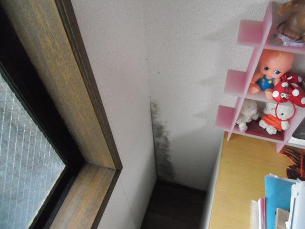 2.施工前洋室のカビ (2).JPG